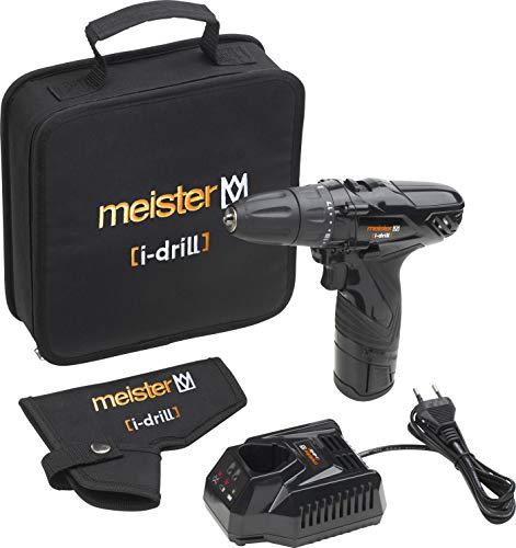 Meister Akkubohrschrauber i-drill black,...