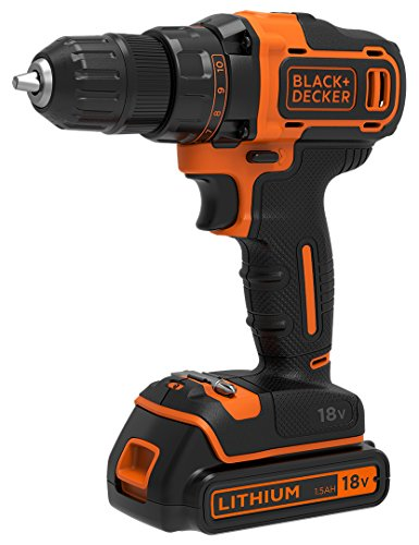 Black + Decker BDCDD186-QW, 18 V,...
